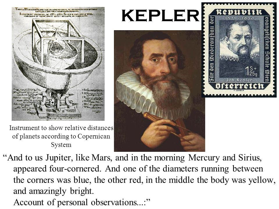 7/14/06ISP 209 - 3A65 How did Kepler determine the planetary orbits? Compare the heliocentric model to naked-eye astronomy The most complete data had