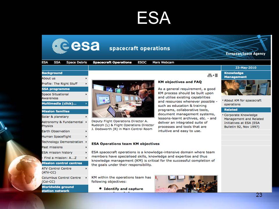 ESA 23