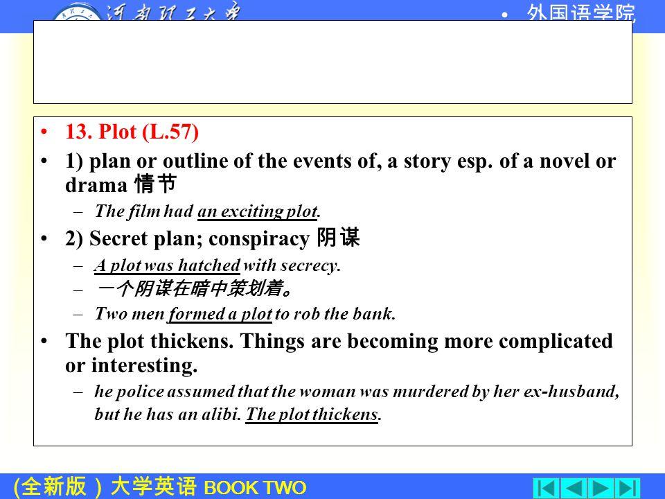 ( 全新版)大学英语 BOOK TWO 外国语学院 12.