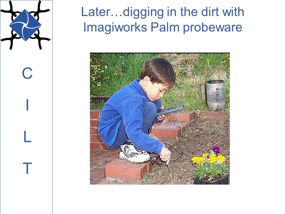 C L I T Later…digging in the dirt with Imagiworks Palm probeware