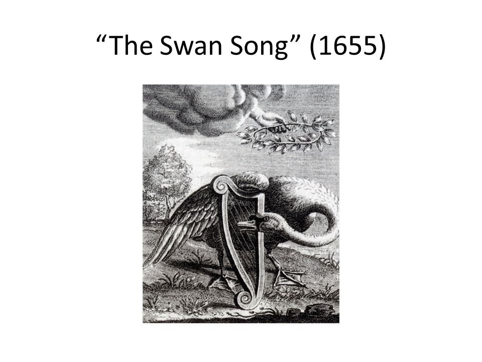 The Swan Song (1655)