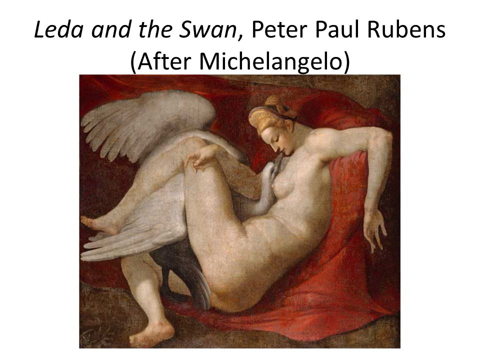Leda and the Swan, Peter Paul Rubens (After Michelangelo)