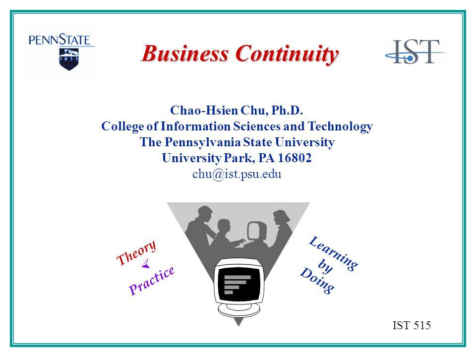 Chao-Hsien Chu, Ph.D.