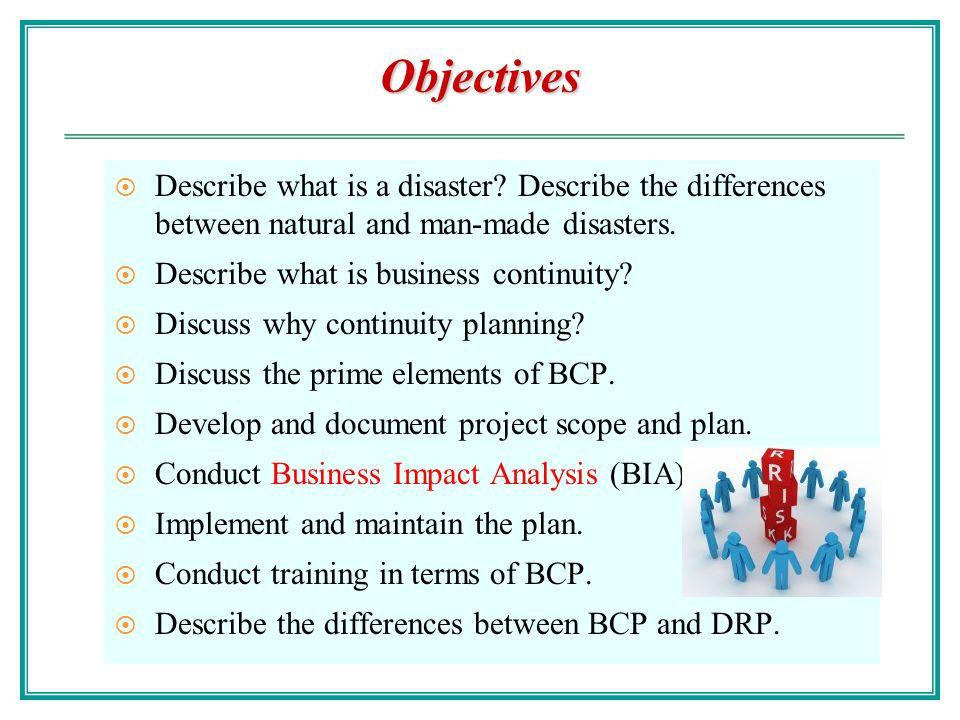 BCP Team Members Senior management.BCP planner/coordinator.