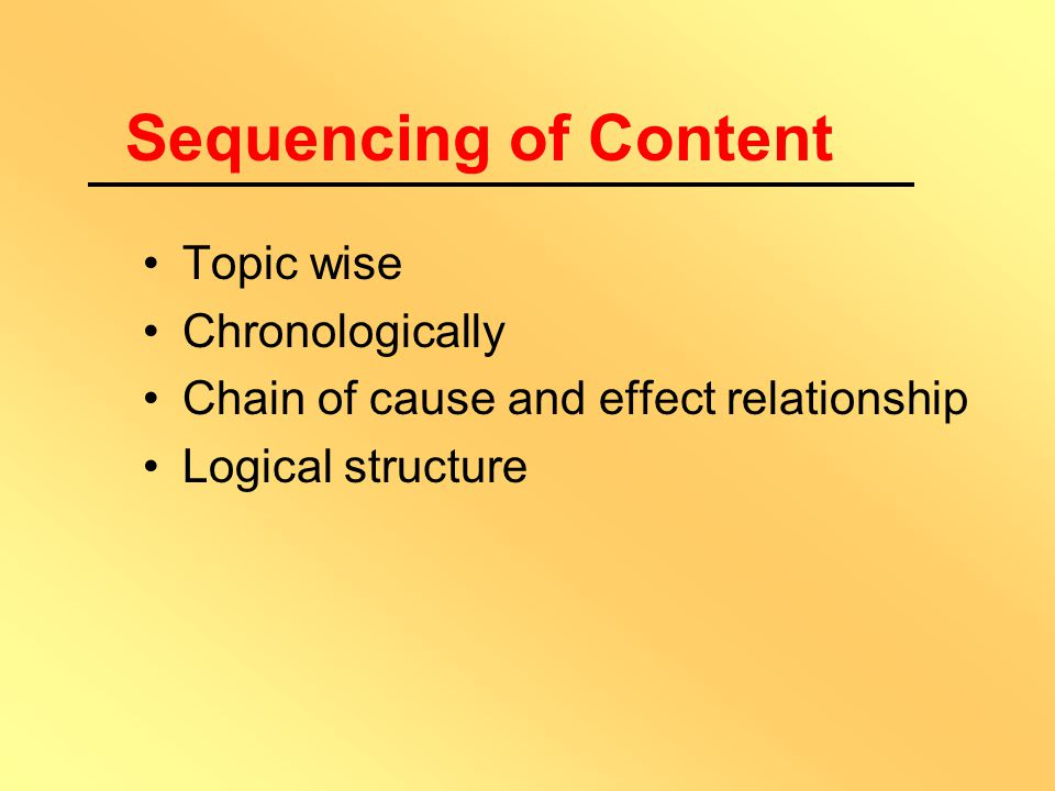 Sequencing of Content Spray Concept Matrix Map Concept Analysis Diagramming  Identification of concepts  Defining them  Supplement with examples 