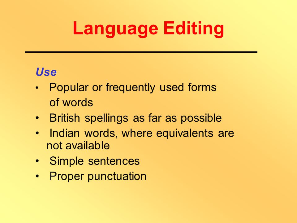 Format Editing House Style Structure Objectives Sections & Sub-sections SAQs Summary Glossary Further Reading Answers to SAQs