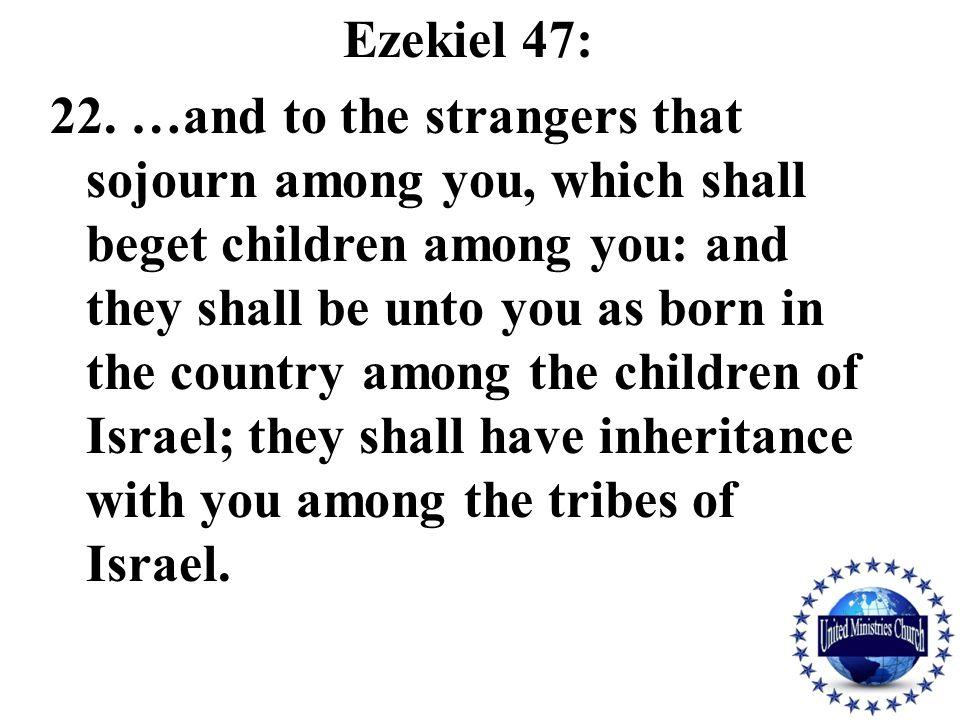 Ezekiel 47: 22.