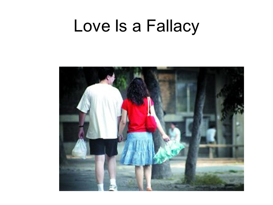 Love Is a Fallacy The End