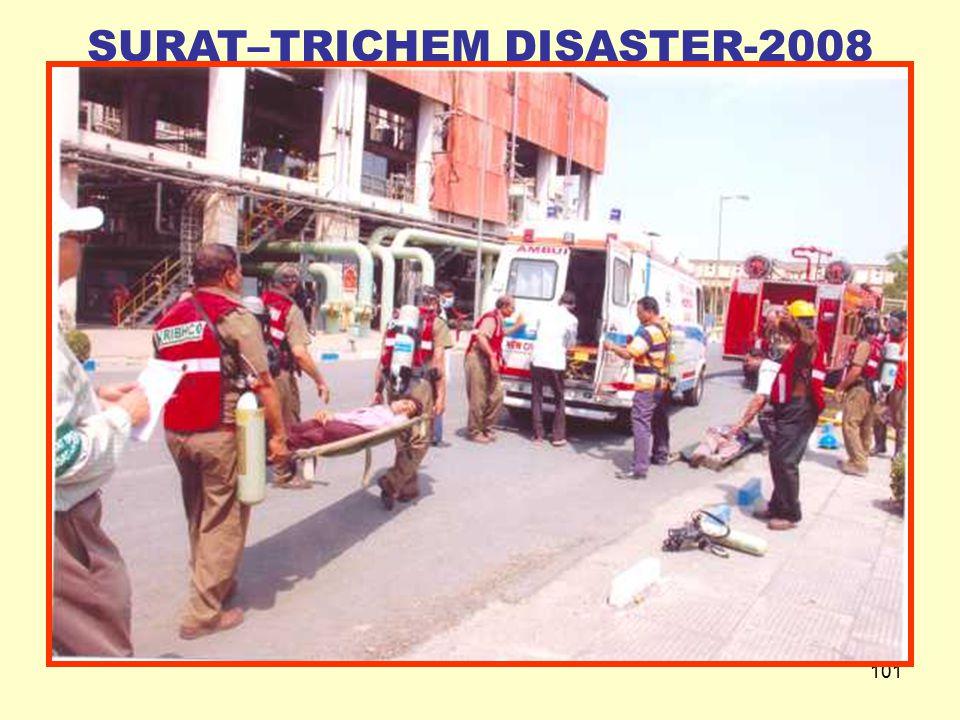 100 SURAT–TRICHEM DISASTER-2008