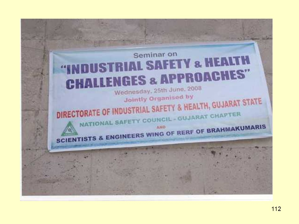 """111 Capacity Building Rajkot Region A seminar on """"Industrial Safety & Health"""" was organized at Rajkot on 20/5/08. 1050 Participants took part in the s"""