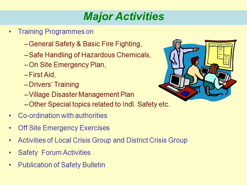 Emergency Handling Data Collection Regarding Hazardous Chemicals and Hazardous Processes, MSDS, Antidotes, Gas Dispersion Resources etc. Safety Awaren