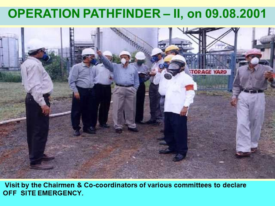 Taking the affected person to the causality response center / Base hospital OPERATION PATHFINDER – II, on 09.08.2001