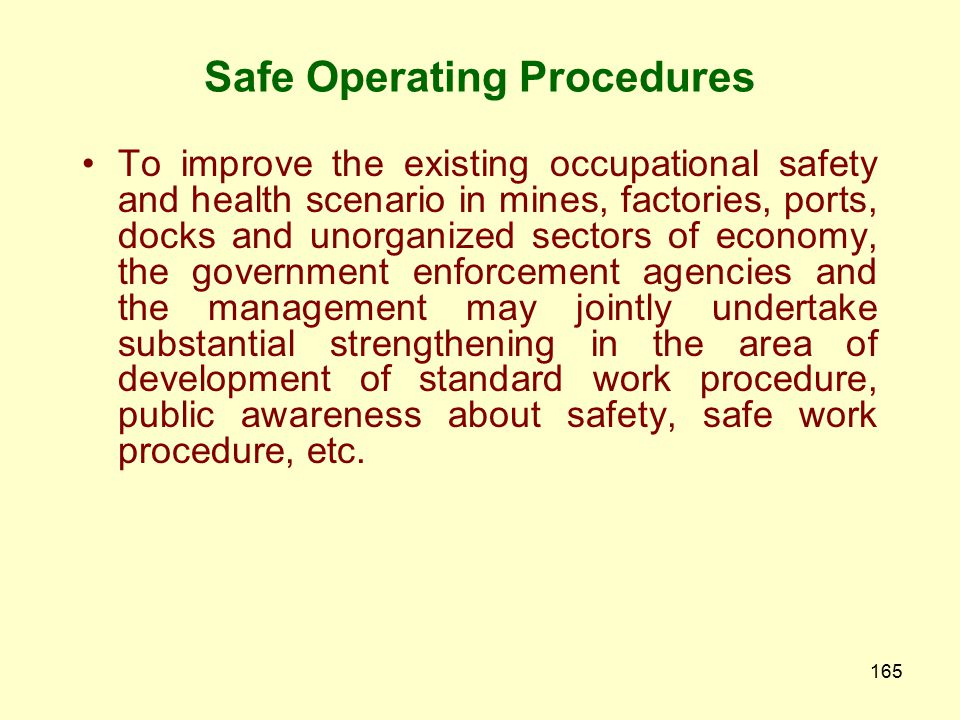 164 Training Module for Occupiers Duties and Responsibilities Hazardous process industries The Manufacture, Storage and Import of Hazardous Chemical R