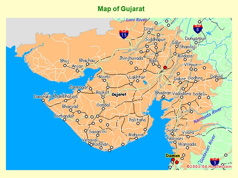3 Map of Gujarat