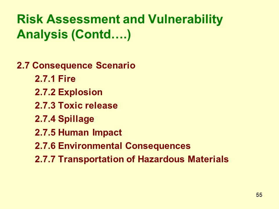 54 2. Risk Assessment and Vulnerability Analysis 2.1 An overview of the Industrial scenario 2.2 Location wise Classification of Hazardous Industries 2