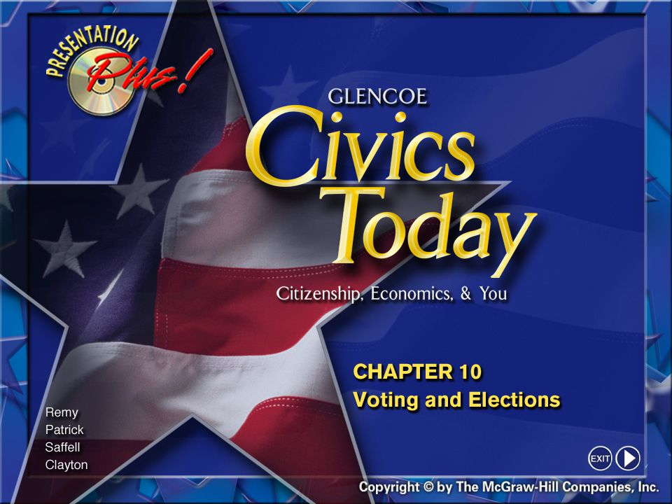 12 Section 1-5 Qualifying to Vote (cont.) Today the Constitution forbids any state to deny the right to vote because of race, color, gender, or age (if the person is at least 18 years old).