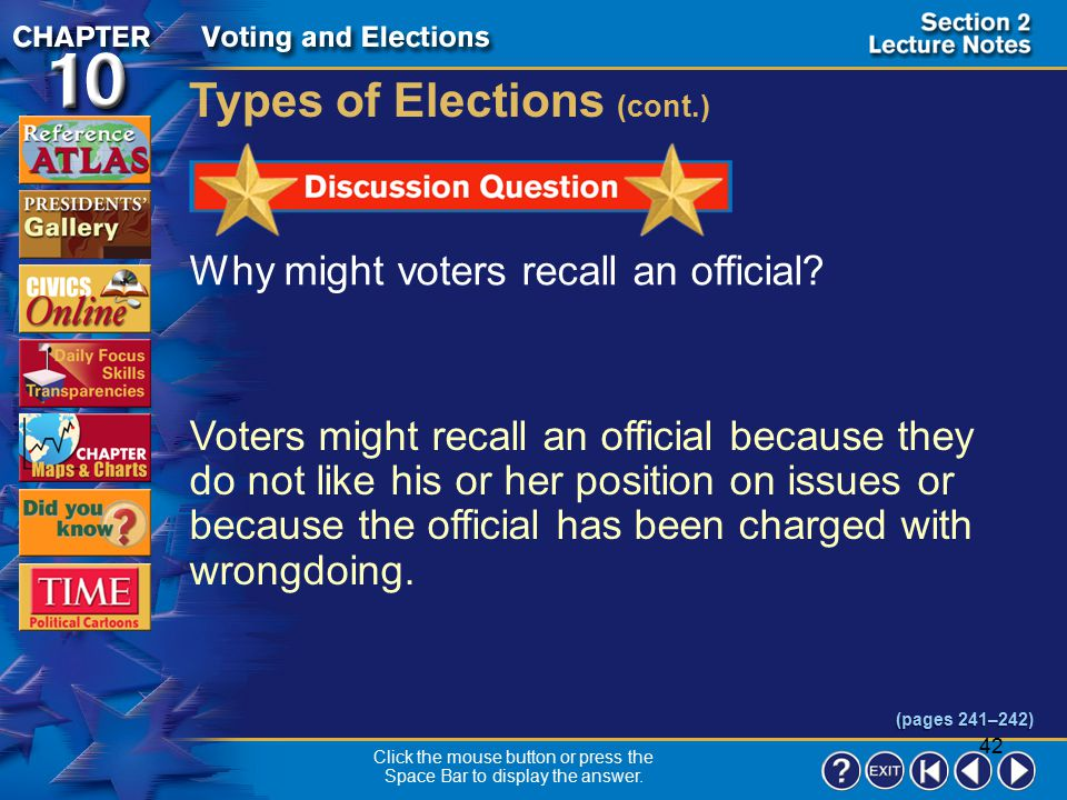 41 Section 2-7 Citizens may petition to have a state or local law referred, or sent back, to the voters as a referendum on the ballot.  The voters ca