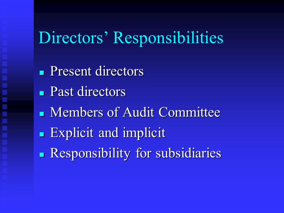 Directors' Duties Acting in good faith a valid defense for the Directors Acting in good faith a valid defense for the Directors In Re The Walt Disney