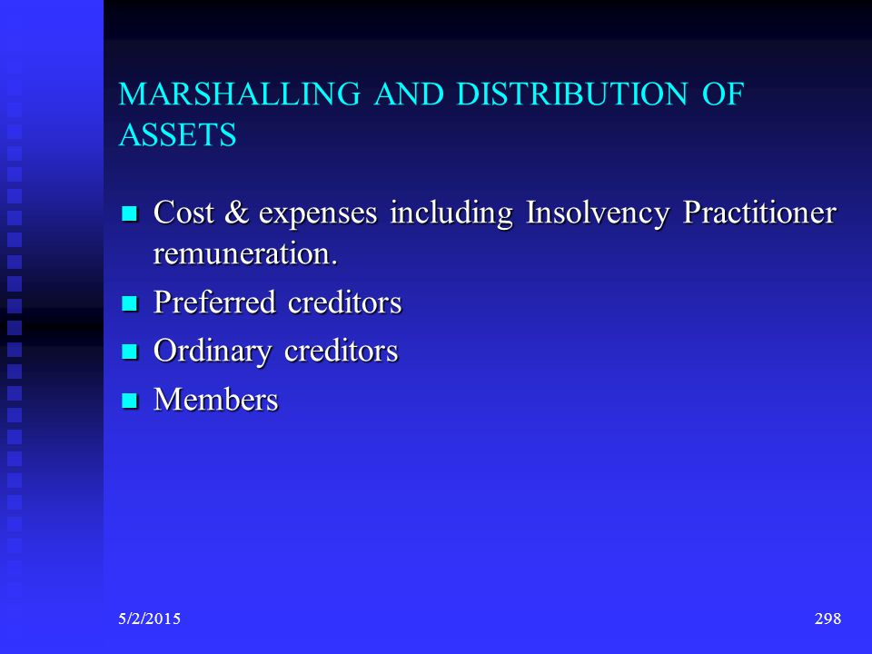 VOLUNTARY LIQUIDATIONS Members' resolution by passing a special resolution at a general or special meeting. Members' resolution by passing a special r