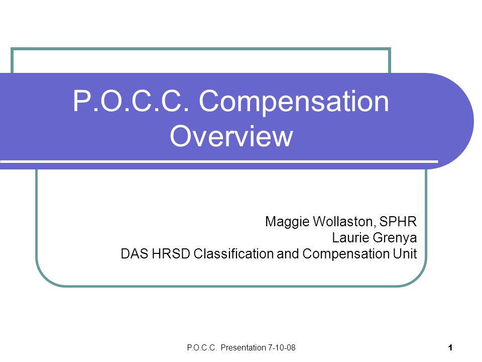 P.O.C.C.Presentation 7-10-082 P.O.C.C.