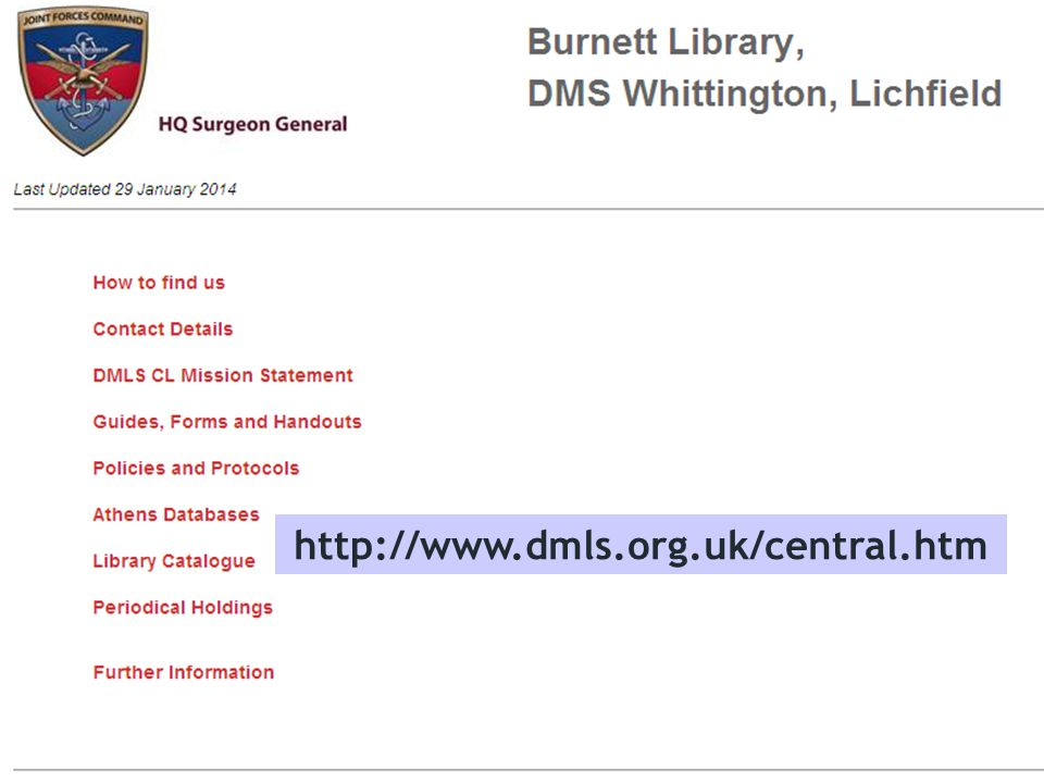 http://www.dmls.org.uk/central.htm