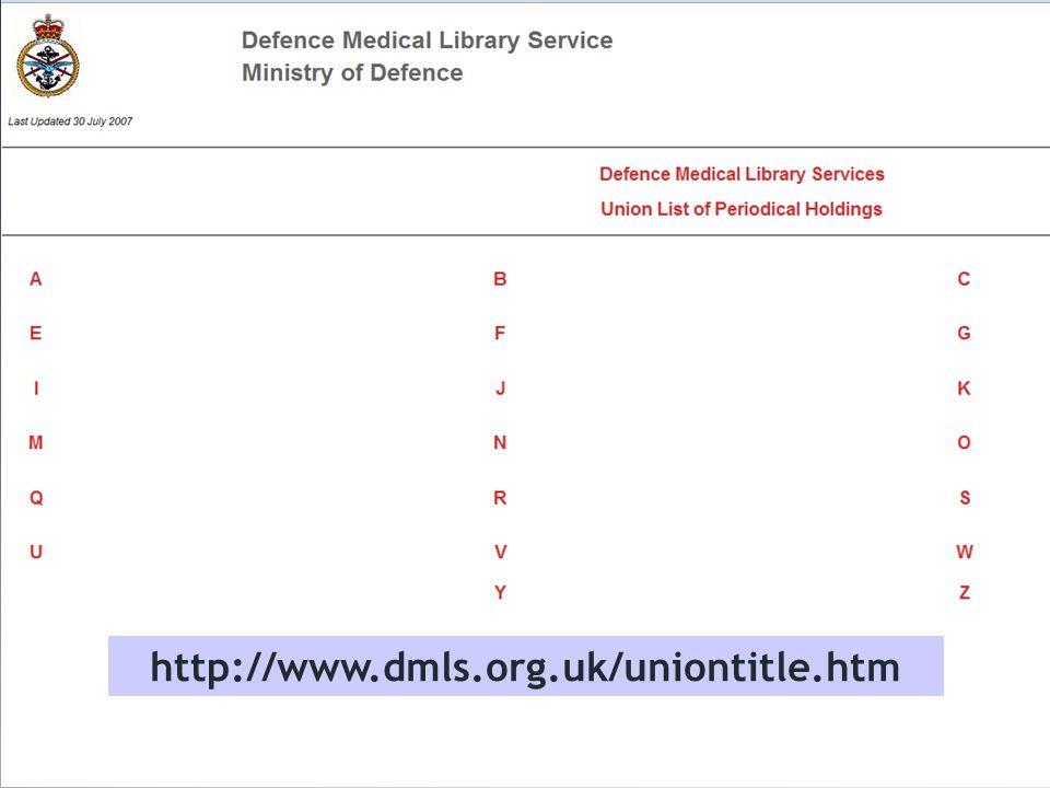 http://www.dmls.org.uk/uniontitle.htm