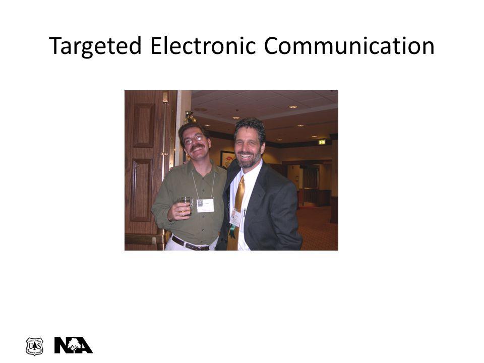 Targeted Electronic Communication