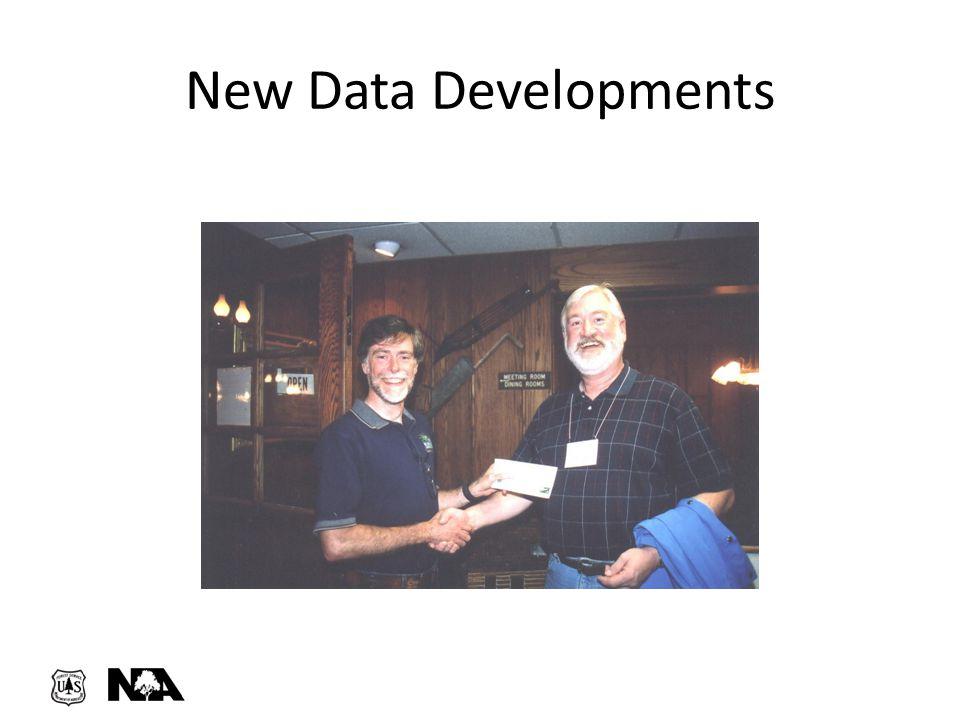 New Data Developments