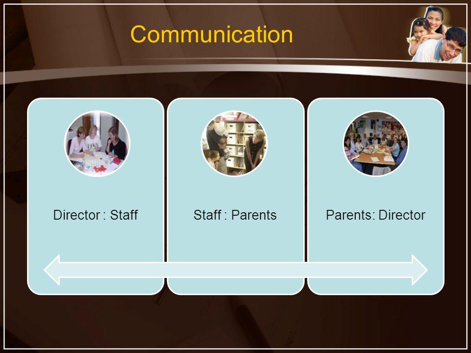 Communication Director : StaffStaff : ParentsParents: Director
