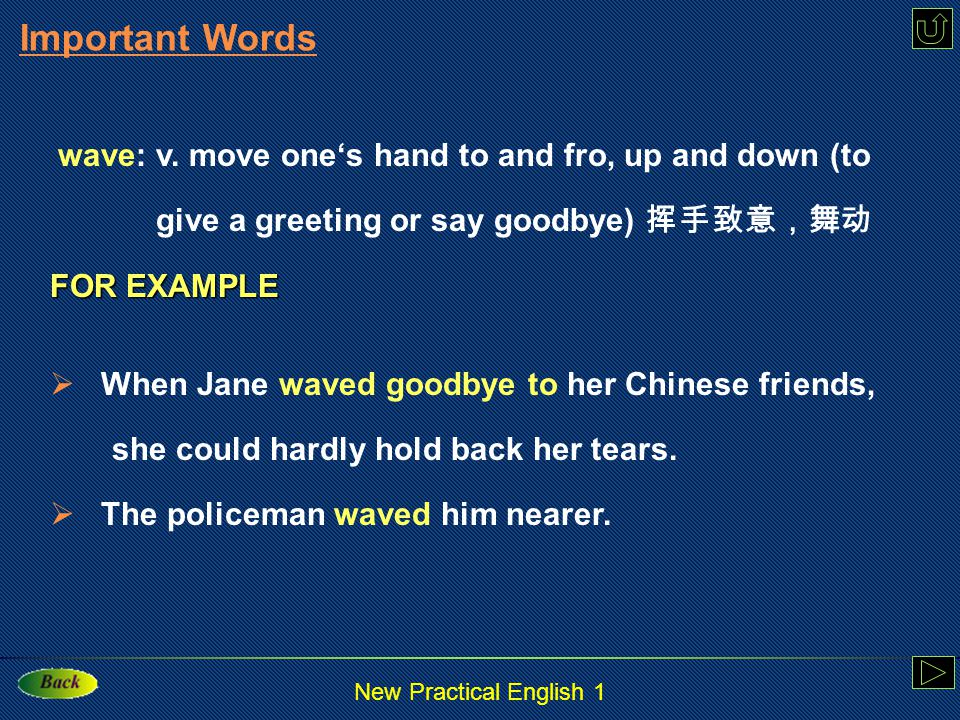 New Practical English 1 relationship Translation 这位老师和学生们关系很好。 The teacher has a very good relationship With her students.