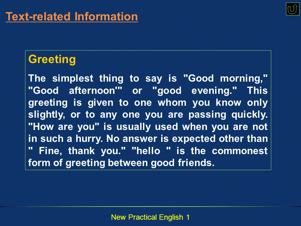 New Practical English 1 Glad to meet you.I'm Miller.