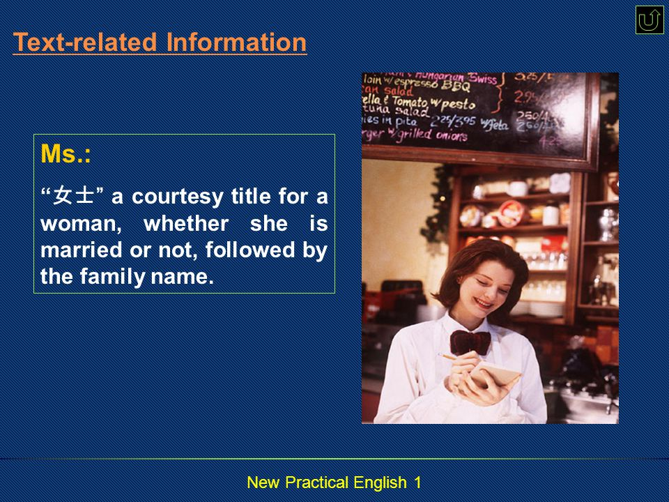 New Practical English 1 relationship: n.