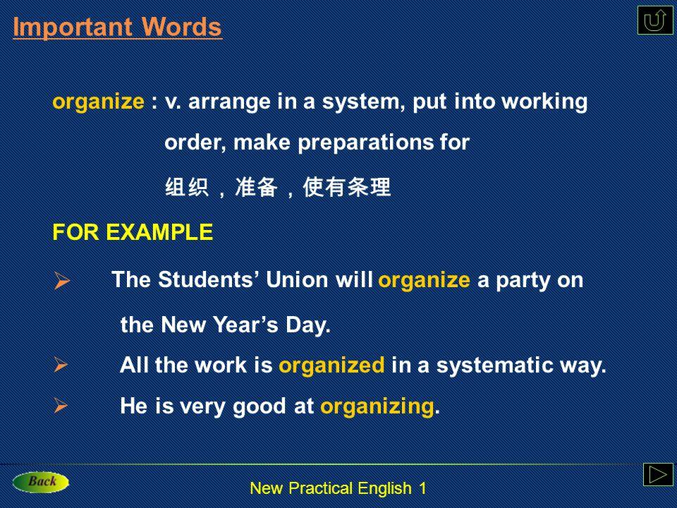 New Practical English 1 stubborn: a.