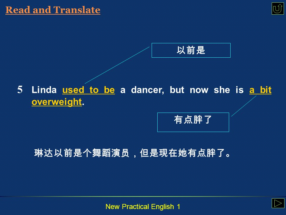 New Practical English 1 Read and Translate 4 Her mother is of mixed blood.