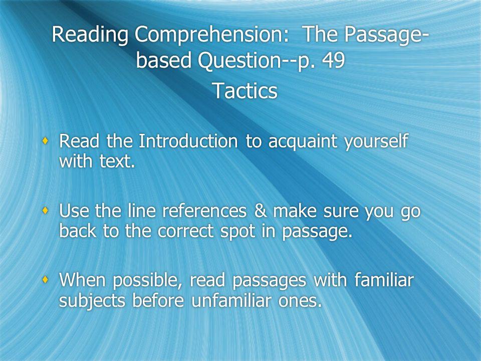 Practice Questions (p44)  1-15 (8 minutes)