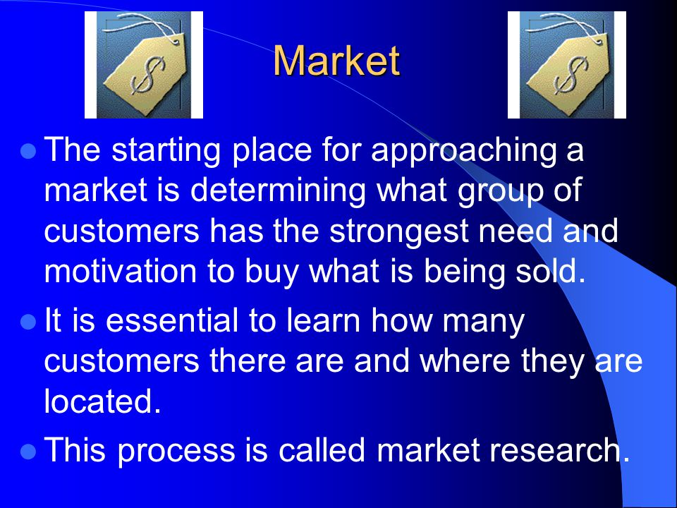 Review/Summary Discuss how to identify customers for a particular business.