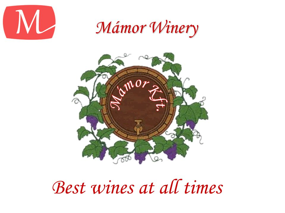 Mámor Winery Best wines at all times