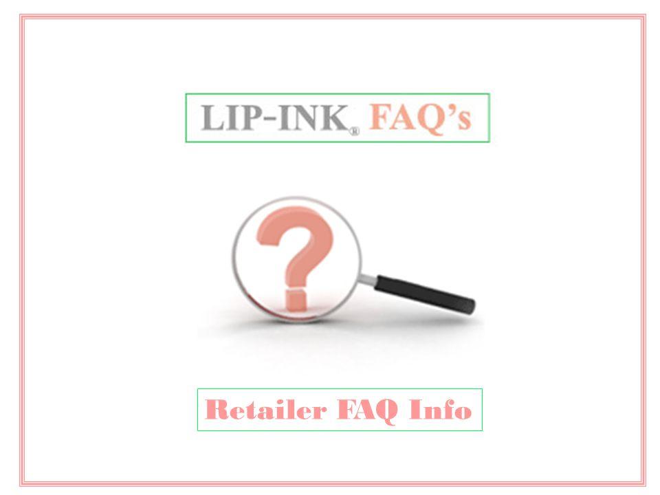 Retailer FAQ Info