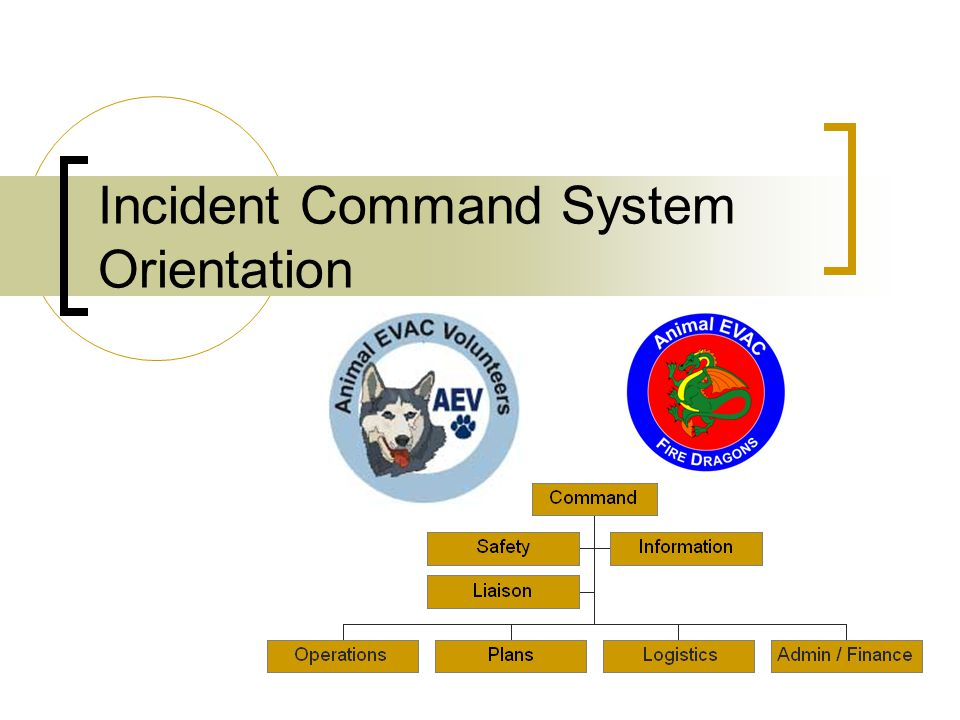 Incident Command System Orientation