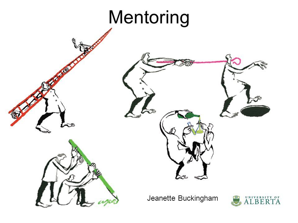 Mentoring Jeanette Buckingham