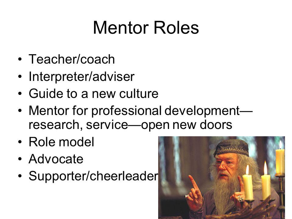 Should we train mentors? ARL SPEC Kit, Mentoring workshops ALA Workshops Bibliography