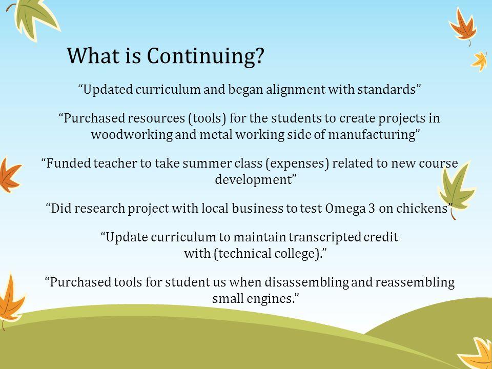 Perkins Plan & Budget Process a new process this year.