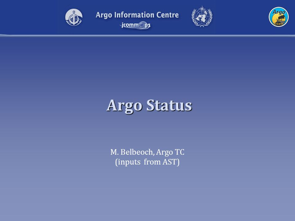 Argo: QC issues Salinity Drift: bio-fooling and others reasons DMQC (dedicated working group) Comparison with CTD data, and nearby float data Accuracy of temperature versus pressure –Applications of Argo data for climate change issues requires highest quality possible (heat content, steric sea level change).