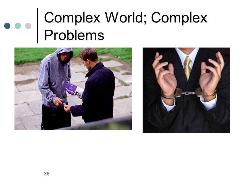 Complex World; Complex Problems 36