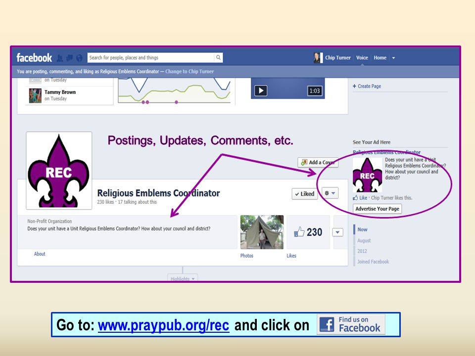 Go to: www.praypub.org/rec and click onwww.praypub.org/rec