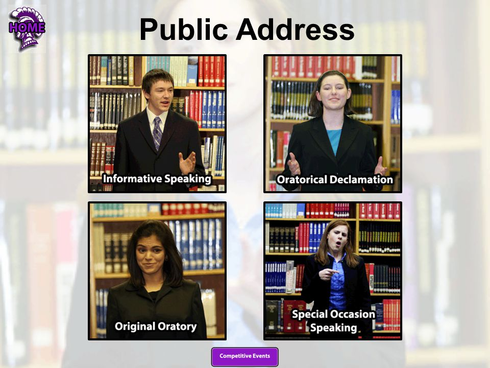 Informative Speaking (INFO) Informative Speaking is the original expository oral presentation of the student.