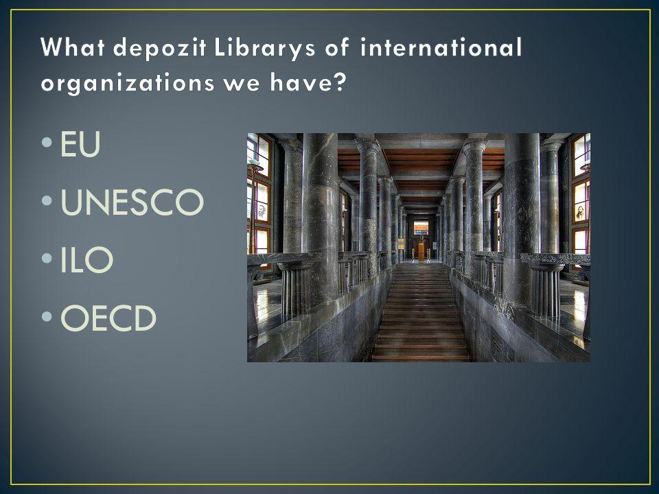 EU UNESCO ILO OECD