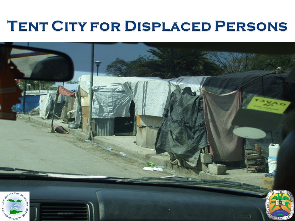 Tent City for Displaced Persons