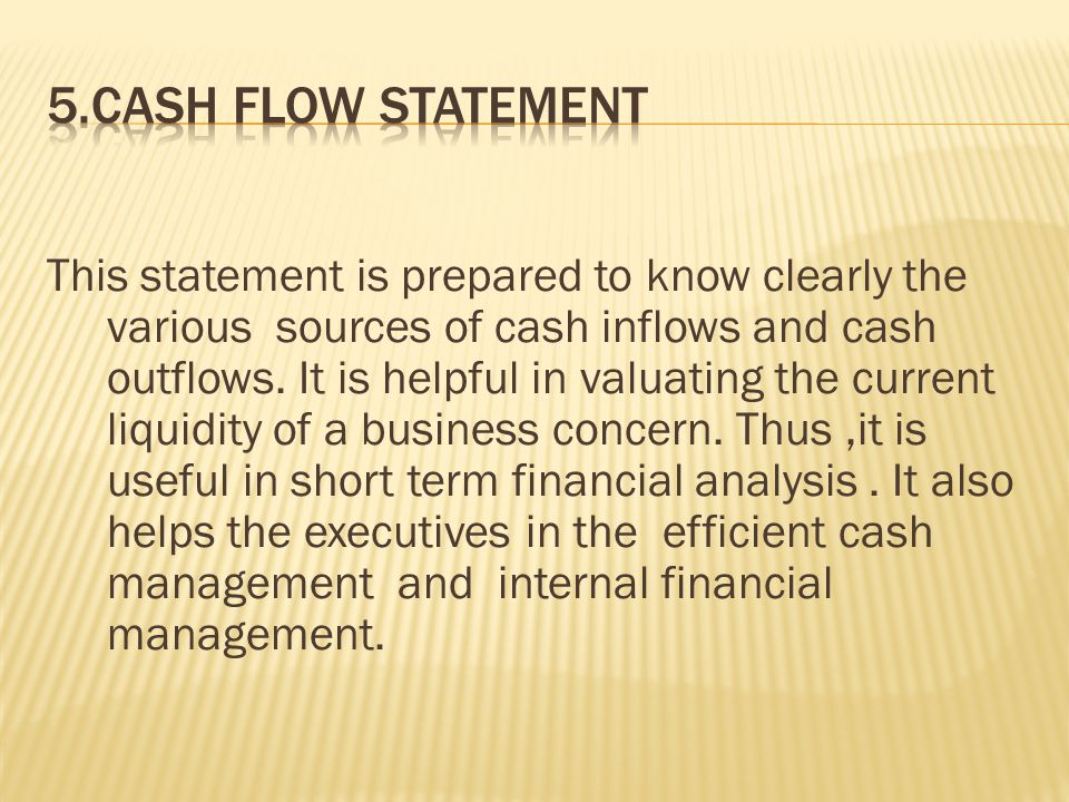 This statement is prepared in order to reveal clearly the various sources where from the funds are procured to financed the activities of a business a concern during an accounting period.