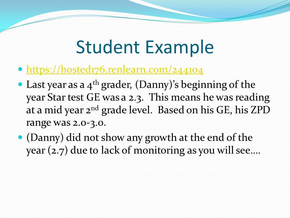 PUT COMPREHENSION FIRST Ensure good comprehension by having students read within a range of book levels that enables them to average at least 85 percent on quizzes.